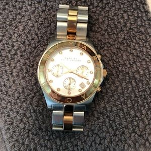 Marc Jacobs Rose gold/silver watch